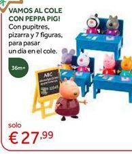 Oferta de Muñecos Peppa pig por 27,99€