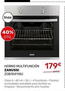 Oferta de Horno multifunción Zanussi por 179€