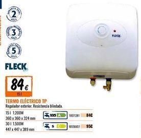 Oferta de Termo eléctrico fleck por 84€