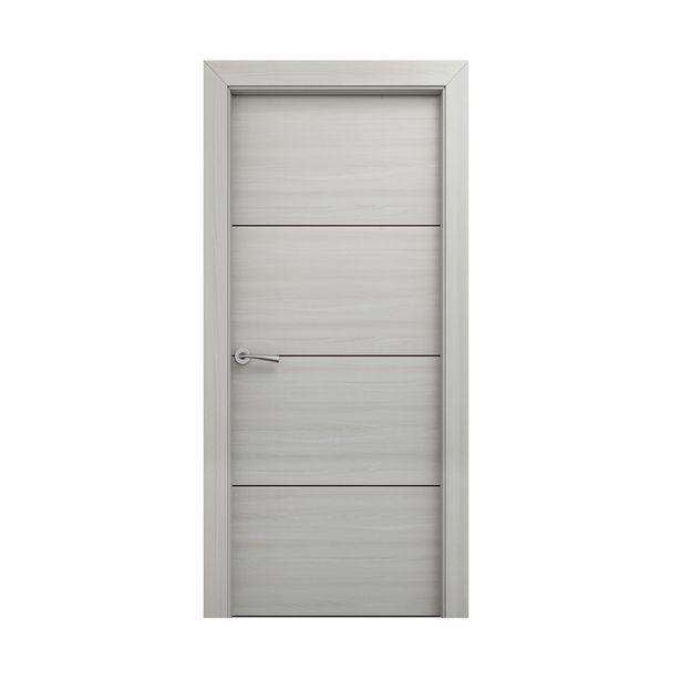 Oferta de Puerta Hércules blanco decapé derecha 203 x 72,5 cm por 109€