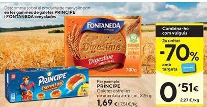 Oferta de Galletas Príncipe por 1,69€