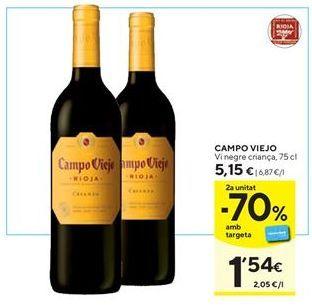 Oferta de Vino tinto Campo Viejo por 5,15€