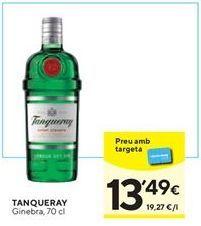 Oferta de Ginebra Tanqueray por 13,49€