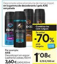 Oferta de Desodorante en spray Axe por 3,6€