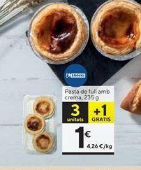 Oferta de Cremas eroski por 1€