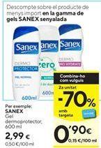 Oferta de Gel de baño Sanex por 2,99€