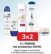 Oferta de En TODOS los productos DOVE  por