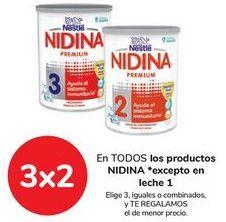 Oferta de En TODOS los productos NIDINA  por