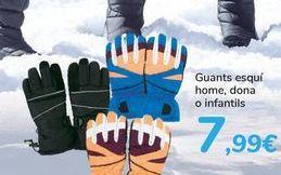 Oferta de Guante esquí hombre, mujer o infantil  por 7,99€