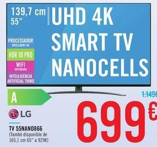 Oferta de TV 55NANO866 LG por 699€