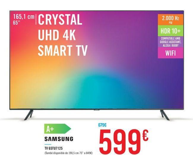 Oferta de TV 65TU7125 por 599€