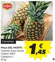 Oferta de Piña DEL MONTE por 1,45€