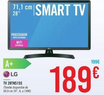 Oferta de TV 28TN515S LG por 189€