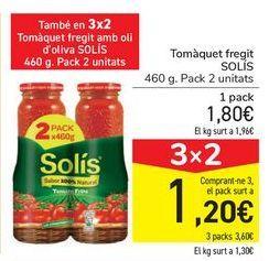 Oferta de Tomate frito SOLÍS por 1,8€