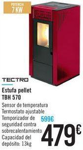Oferta de Estufa pellet TBH 570 TECTRO  por 479€