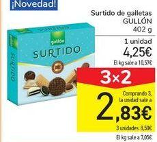 Oferta de Surtido de galletas GULLÓN por 4,25€