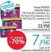 Oferta de Pants DODOT Activity Extra  por 23,95€
