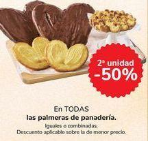 Oferta de En TODAS las palmeras de panadería por