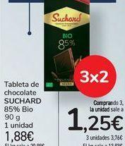 Oferta de Tableta de chocolate SUCHARD 85% Bio por 1,88€