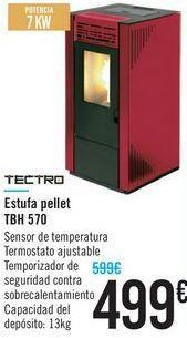 Oferta de Estufa pellet TBH 570 TECTRO  por 499€