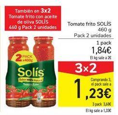 Oferta de Tomate frito SOLÍS por 1,84€