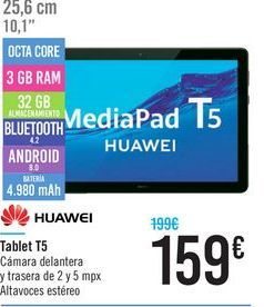 Oferta de Tablet T5 HUAWEI por 159€