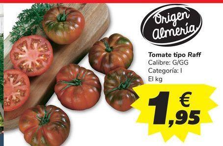 Oferta de Tomate tipo Raff por 1,95€