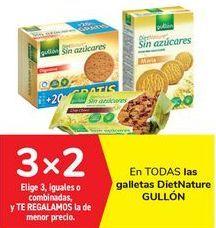 Oferta de En TODAS las galletas Diet Nature GULLÓN por