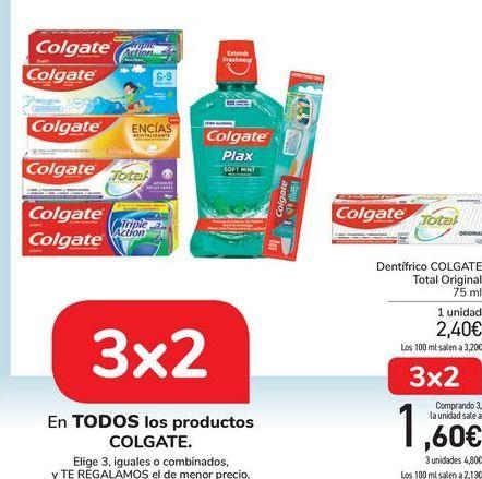 Oferta de En TODOS los productos COLGATE  por