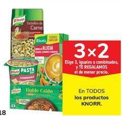 Oferta de En TODOS los productos KNORR por
