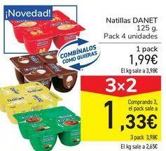 Oferta de Natillas DANET por 1,99€