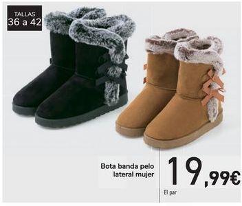 Oferta de Bota banda pelo lateral mujer  por 19,99€