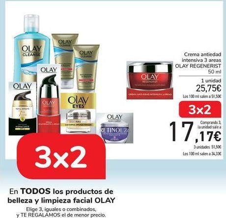 Oferta de En TODOS los productos de la belleza facial OLAY  por