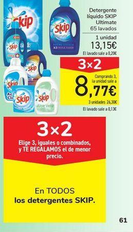Oferta de En TODOS los detergentes SKIP por