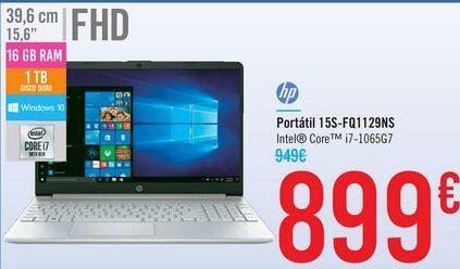 Oferta de Portátil 15S-FQ1129NS HP por 899€