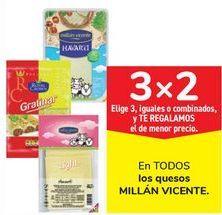 Oferta de En TODOS los quesos MILLÁN VICENTE por