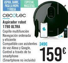 Oferta de Aspirador robot 1790 ULTRA Cecotec por 159€