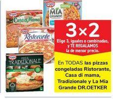 Oferta de En TODAS las pizzas congeladas Ristorante, Casa di mama, Tradizionale y La Mia Grande DR.OETKER por