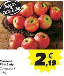Oferta de Manzana Pink Lady por 2,19€