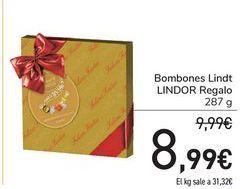 Oferta de Bombones Lindt LINDOR Regalo por 8,99€