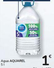Oferta de Agua AQUAREL por 1€