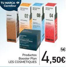 Oferta de Productos Booster Plan LES COSMETIQUES por 4,5€
