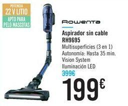Oferta de Aspirador sin cable RH9695 Rowenta  por 199€