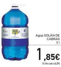 Oferta de Agua SOLÁN DE CABRAS  por 1,85€