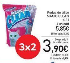 Oferta de Perlas de sílice MAGIC CLEAN  por 5,85€