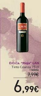 Oferta de D.O.Ca Rioja LAN por 6,99€