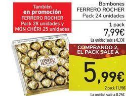 Oferta de Bombones FERRERO ROCHER por 7,99€