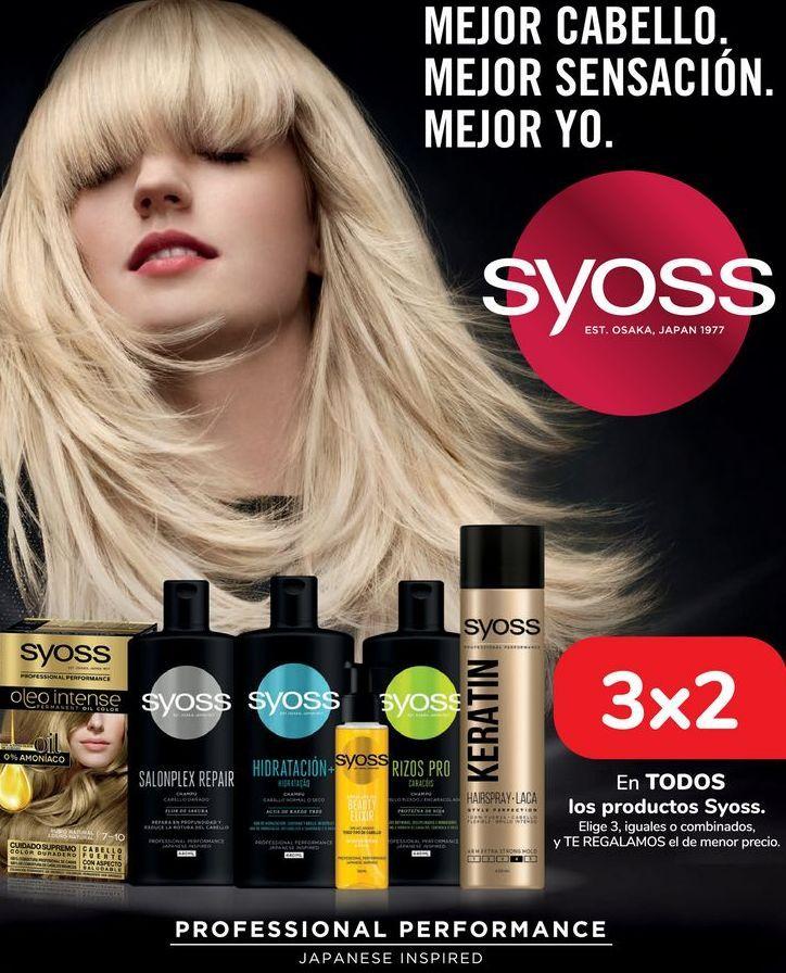 Oferta de En TODOS los productos Syoss  por
