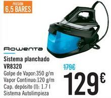 Oferta de Sistema planchado VR8320 Rowenta  por 129€