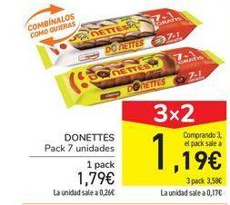 Oferta de DONETTES por 1,79€